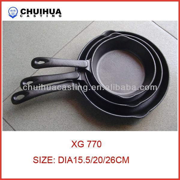 Cast iron kitchenware
