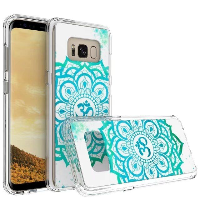 Colorful Ultra Soft TPU Back Cover Case for Samsung Galaxy S8 Anti-shock Printing Case