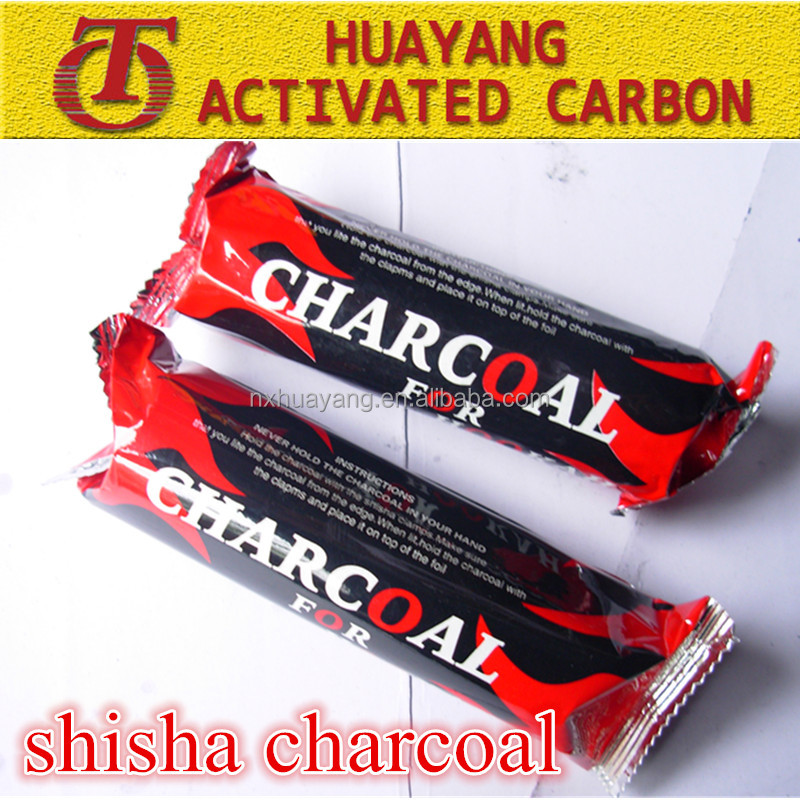 Machine Made Coconut Shell Tablet Hookah Charcoal in Cubic for Shisha