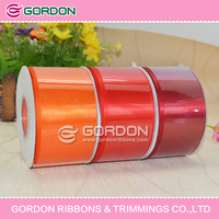 "50mm 2"" SATIN RIBBON WEDDING PARTY TABLE ANNIVERSARY CAKE FLOWER DECORATING"