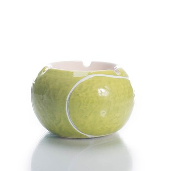 A grade ball shaped portable custom ashtray ceramic