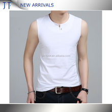 Wholesale Blank Long style Vest Oversize Shape Cotton Breathable Men TANK TOP