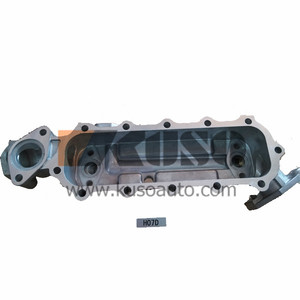 H07D H07C oil cooler cover for HINO excavator engine parts
