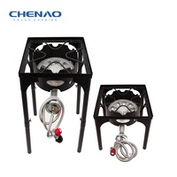 outdoor gas cooking range Super Power gas cooker