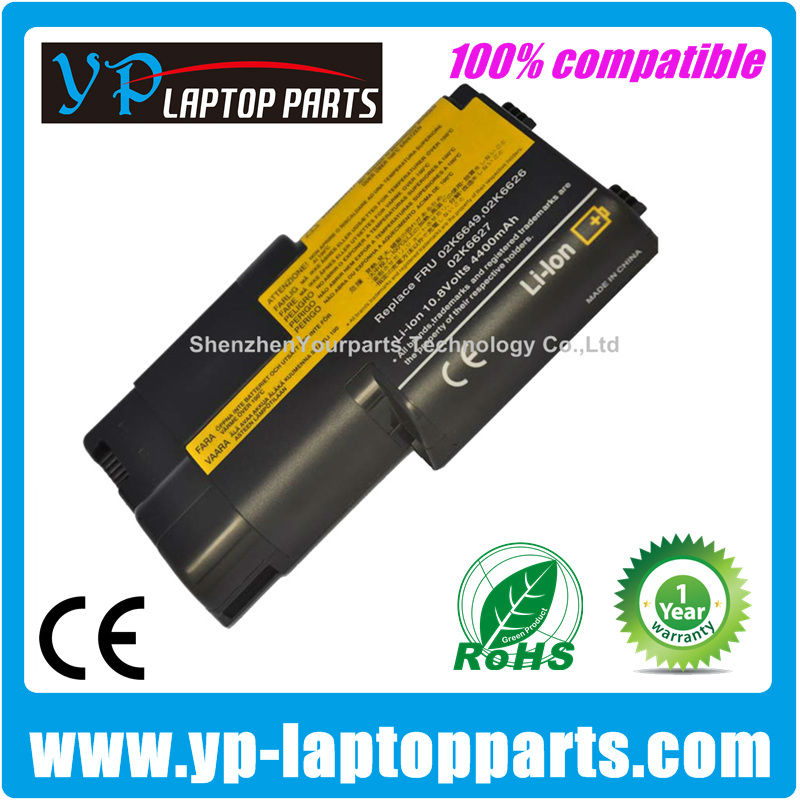 For Lenovo ThinkPad T20 battery compatible battery T21 T22 T23 02K6627 02K6649 02K6857 02K6859 02K7025 02K7032 series
