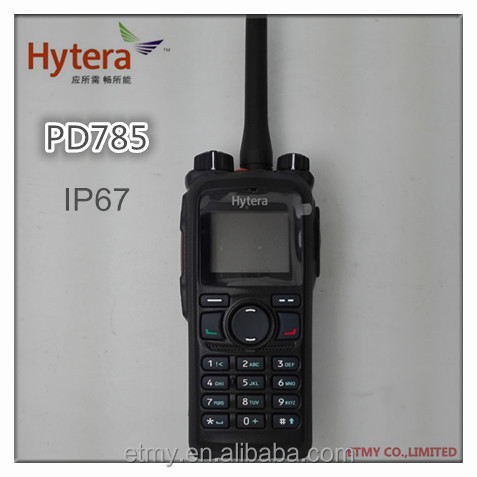 Commercial Digital Hytera PD780 DMR portable two-way radio