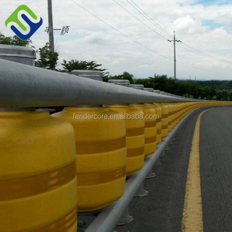 Widely Used Roller guard rail / Safety roller barrier / roller guardrail