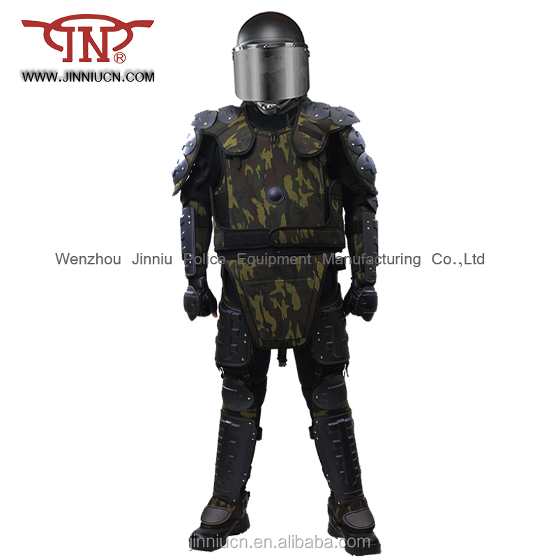 Camouflage Anti-riot gear/ police riot control Camouflage suit/ Police Anti riot suit Camouflage color