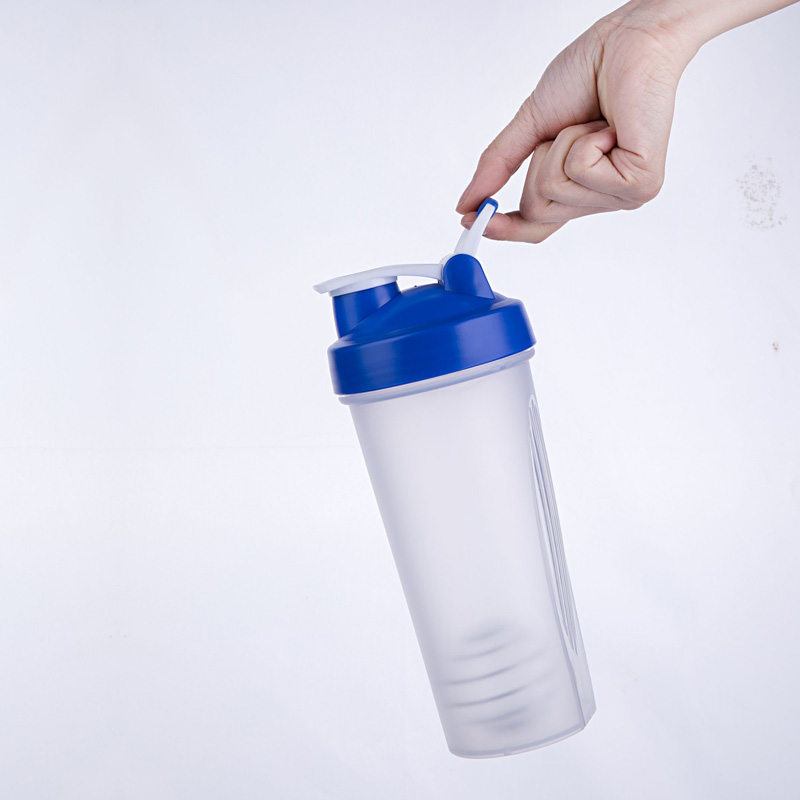 plastic protein powder shakers water bottles , 400ML 600ML  shaker sports plastic water bottles