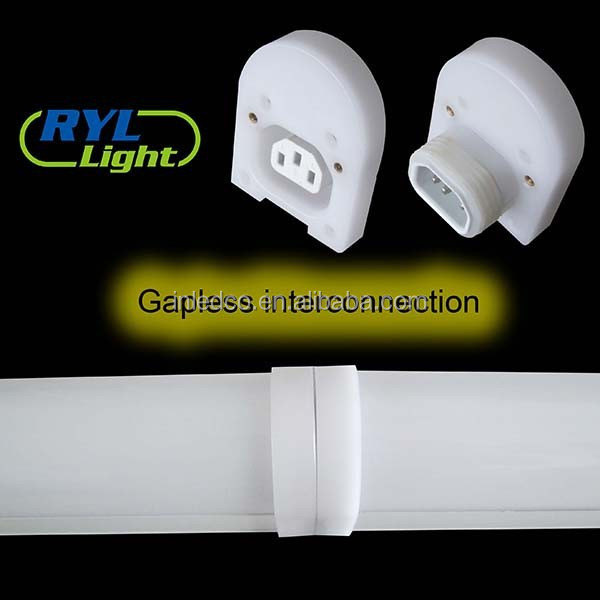 Waterproof fluorescent lighting fixture LED emergency ip65 fixture