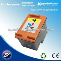 Printer accessories ciss color ink cartridge 99(C9363WN) compatible for HP
