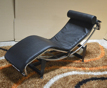 vintage chaise lounge chair modern furniture Le Corbusier Chaise Lounge