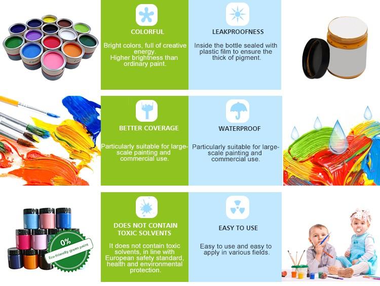 Kids Paint Set Painting Set Diy Acrylic Paint For Kids Buy Non