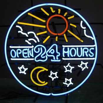 Outdoor Neon Bar-Klub NEON SIGN Open Di Cina