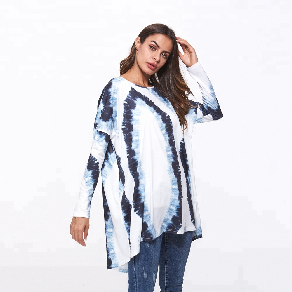 European Wholesale Latest Tomslover Brand Women Long Tops Blouses 2018 Autumn Clothing