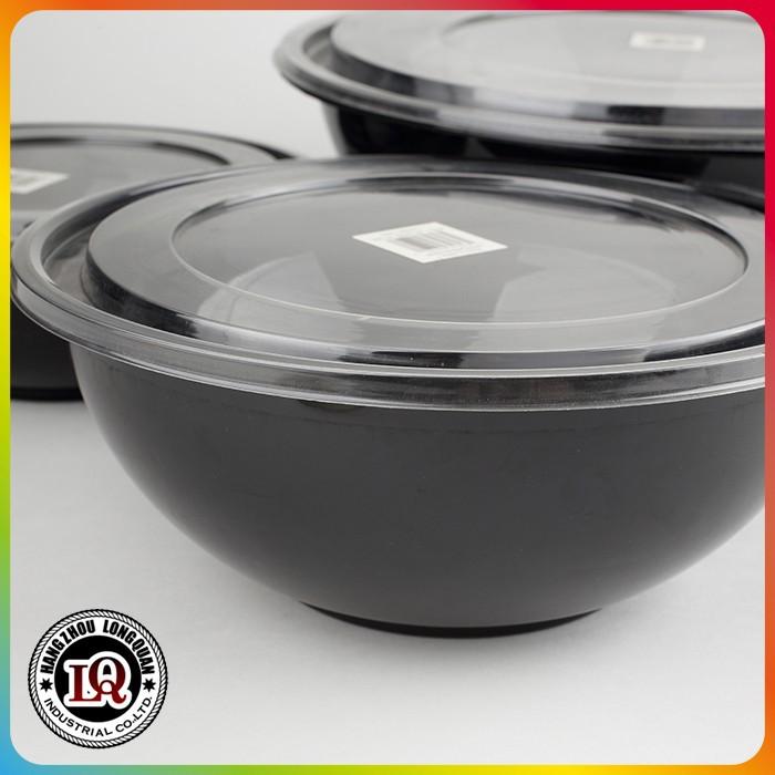 einweg runde kunststoff salatsch ssel mit deckel sch ssel und teller produkt id 60100804539. Black Bedroom Furniture Sets. Home Design Ideas