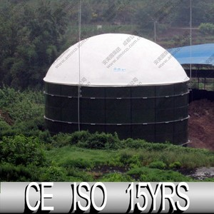 China Biogas Production, Methane Gas Plant On Digester Tank Enamel