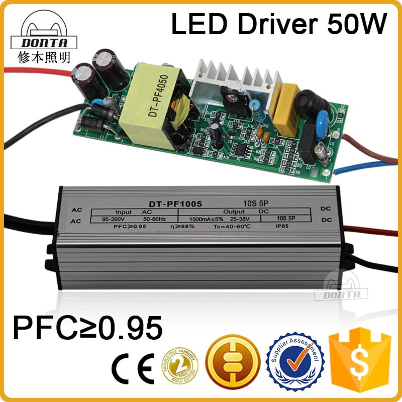 Constant Current Led Driver 50w With Ce Standard