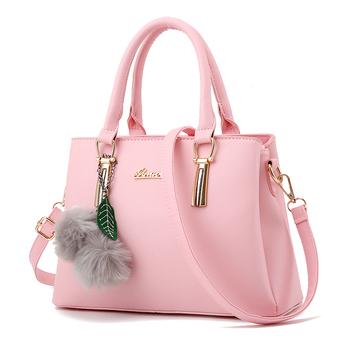 custom professional womens girls fancy pink shoulder bag