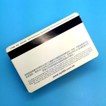 Custom Printed Coated Paper Passive MIFARE Ultralight EV1 RFID Paper Card for Train Tickets