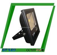 multi color led work light powerful 220-240v 60 watt led slim flood light