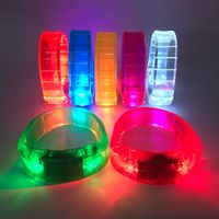 Hot Selling Glowing Smart Bracelet/LED Bracelet/Programmed LED Bracelet