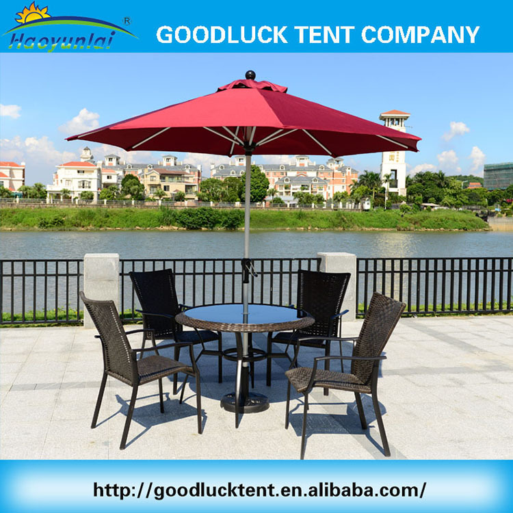 Top quality cheap outdoor patio coffee shop roma commercial umbrella