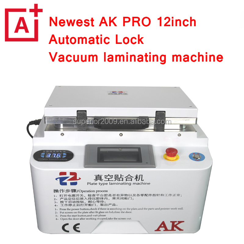 For iphone repair AK PRO OCA laminator machine for iphone samsung sony htc lg mobile phone repair lcd refurbish
