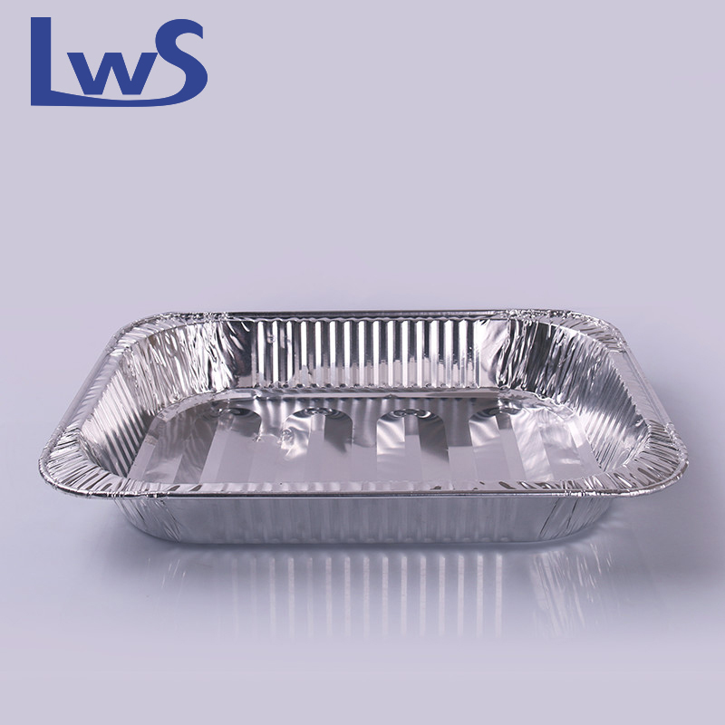 Recyclable aluminum foil Roaster Pan