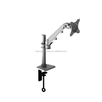 2017 Full Motion Best selling ! Articulating Gas Spring computor table mount desk monitor bracket -----MB311B