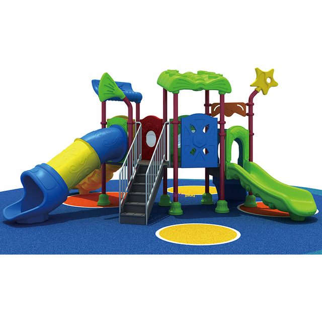 Multi Function Baby Slide And Swing Outdoor Playground