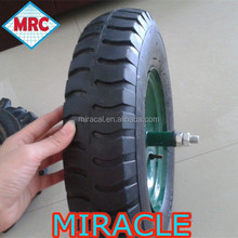 "China Manufacturer hot sale 16"" 4.00-8 Solid Rubber Wheel"