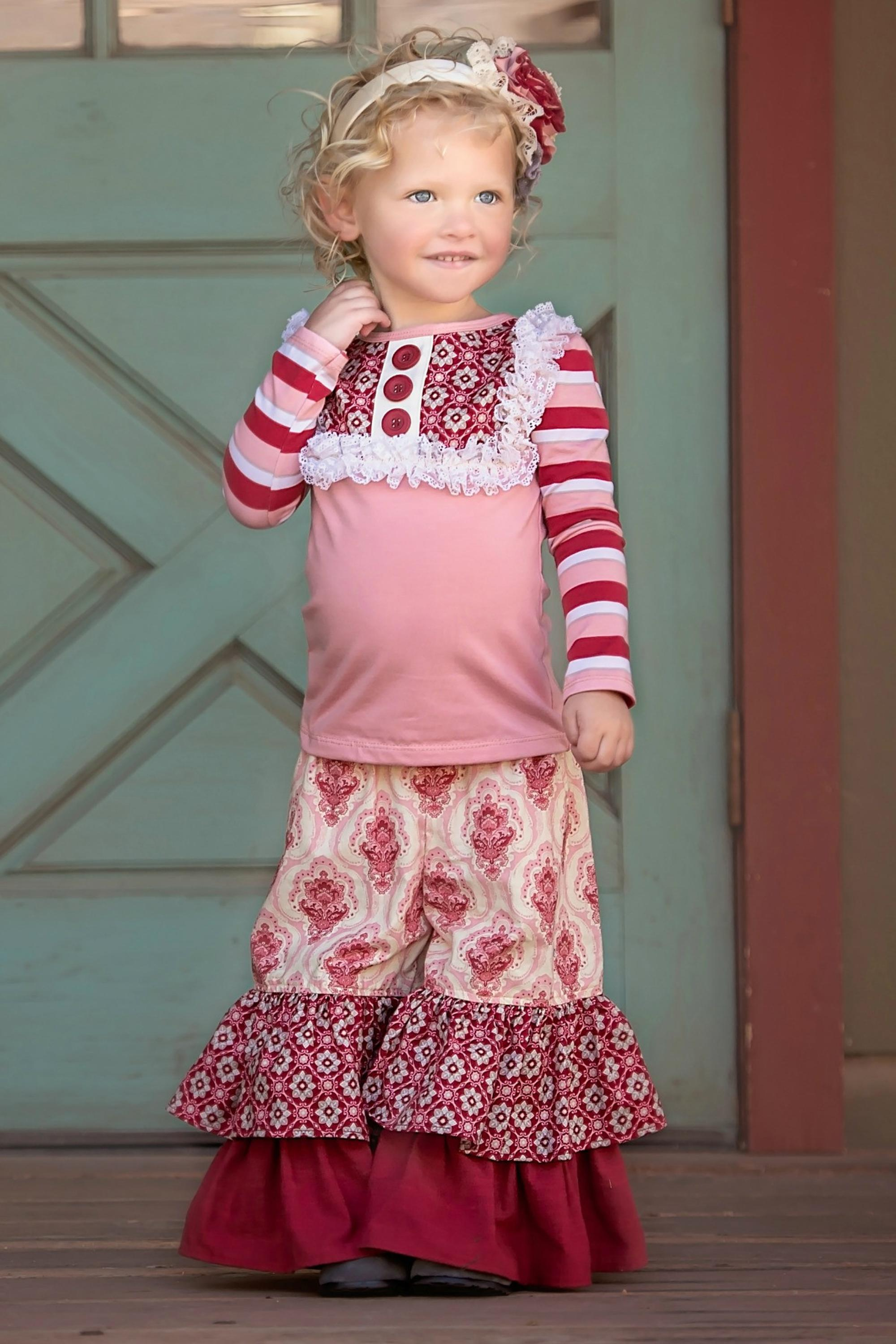 Baby Girls Remake Patchwork Outfits Toddler Sleeveless Floral Ruffle