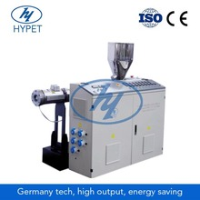 Mini single screw extruder for tag line
