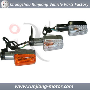 China factory winkle lamp / turning light / indiactor light chromed motorcycle parts for HONDA STORM