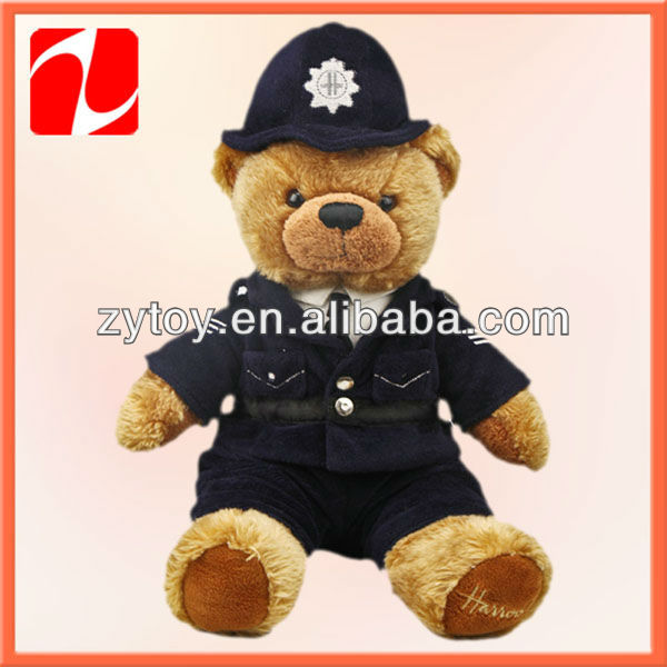 Mini teddy bears with clothes valentine teddy bears made in China