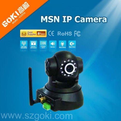 H.264 MSN IP CAMERA With WIFI