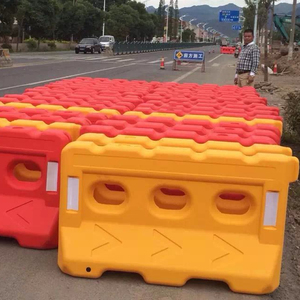 Road Safety Warning Plastic Barrier traffic barrierroad safety barrier traffic safety barrier