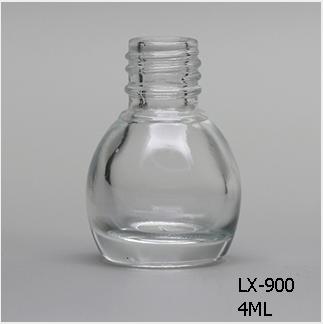 Lx 900 Clear Nail Polish Bottle Bulk 4ml Mini Mason Jars Bulk13mm Neck Wholes