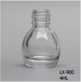Lx 900 Clear Nail Polish Bottle Bulk 4ml Mini Mason Jars Bulk13mm Neck Wholes