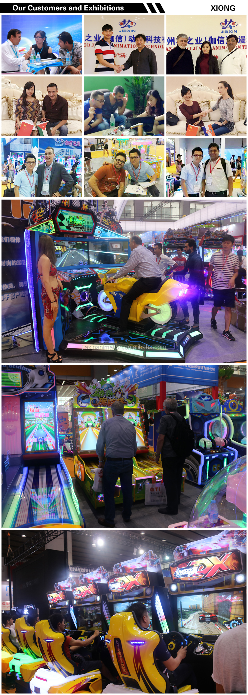 Jiaxin Hot Sale Coin Operated Video Arcade Game Machine For Kids