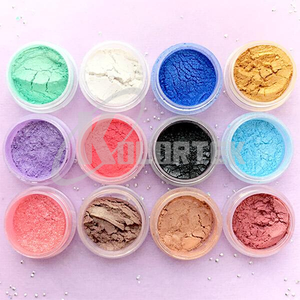 Colorful Cosmetic Pigment Color Mica Powder for Cosmetic