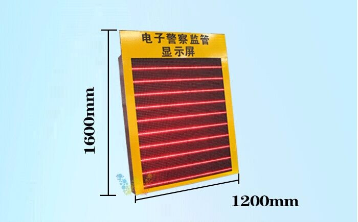 10 Years Factory Aluminum 1600*1200mm Programmable Moving Traffic Warning Sign Outdoor Led Screen