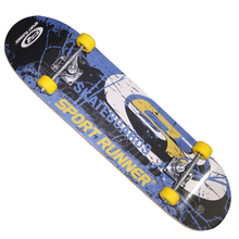 Factory Supply Excellent Complete Longboard, Wholesale Off Road Pu Four Wheels Skateboard