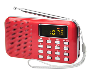 old style desktop MP3 player cheap loudspeaker with am/fm radio