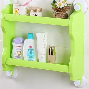 Custom New Kitchen Plastic Storage Shelf 2 Tier Rack Wall Er Bathroom Shower