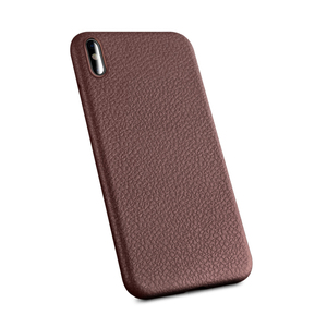 Cell phone case leather pattern soft tpu for iPhone X cover super light