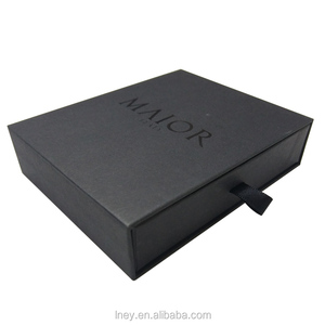Custom popular Luxury different size Sliding drawer gift box for wholesale