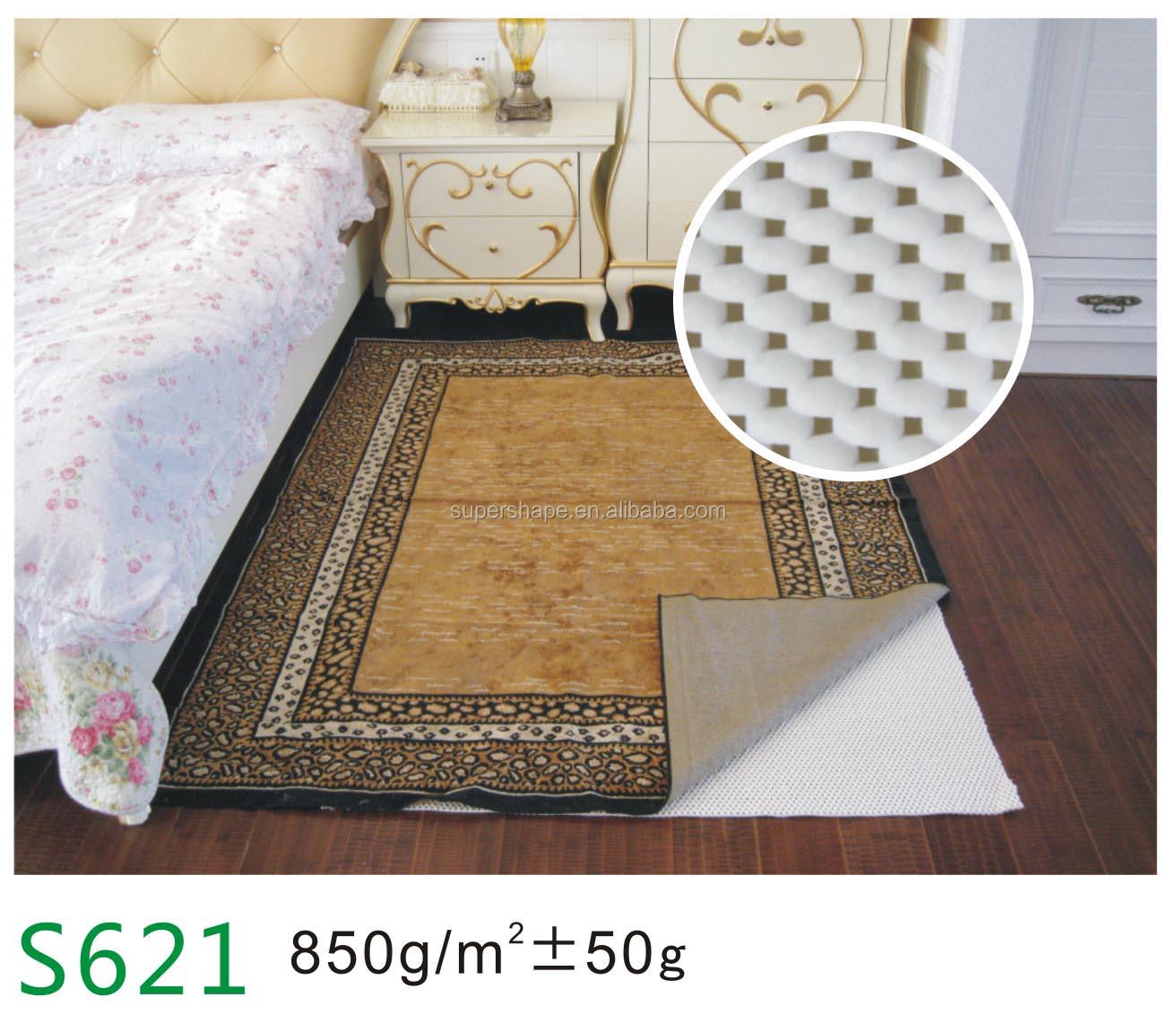 Pvc Foam Non Slip Grip Rug Pad Anti Carpet Underlay Product On Alibaba Com