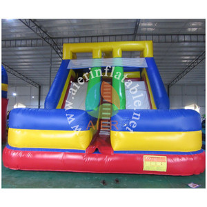 Commercial Kids Indoor double lane Inflatable Dry Slide